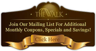 The Walk Of Coral Springs - Deals/Coupons Sign-Up Form